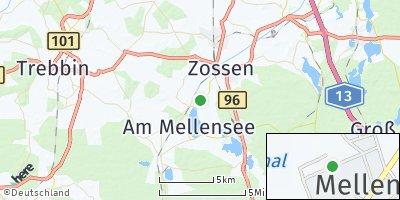 Google Map of Mellensee