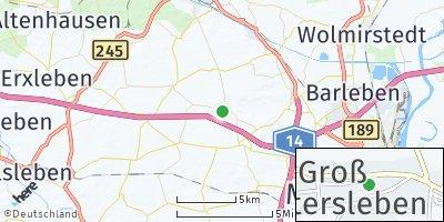 Google Map of Groß Santersleben