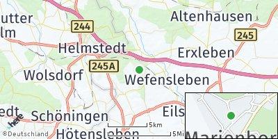 Google Map of Marienborn