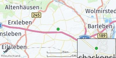 Google Map of Schackensleben