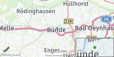 Google Map of Bünde