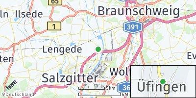 Google Map of Üfingen