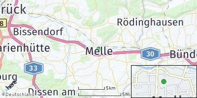 Google Map of Melle