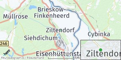 Google Map of Ziltendorf