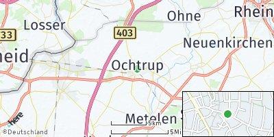 Google Map of Ochtrup