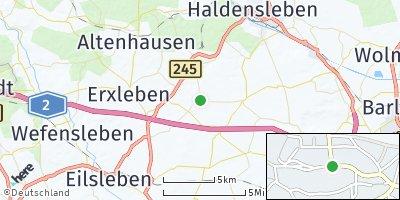 Google Map of Nordgermersleben