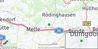 Google Map of Düingdorf