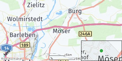 Google Map of Möser