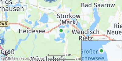 Google Map of Storkow