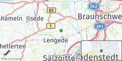 Google Map of Bodenstedt