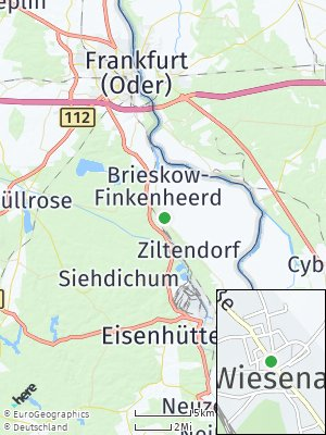 Here Map of Wiesenau