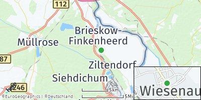 Google Map of Wiesenau