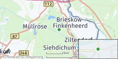 Google Map of Groß Lindow