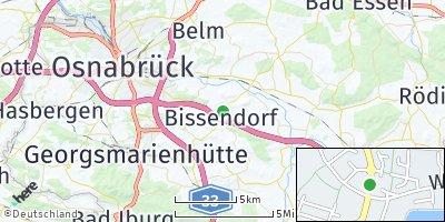Google Map of Bissendorf