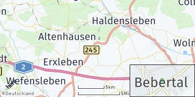 Google Map of Bebertal