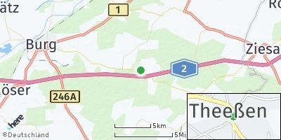 Google Map of Theeßen