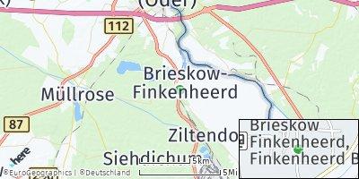 Google Map of Brieskow-Finkenheerd