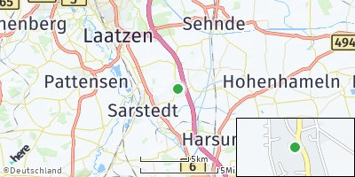 Google Map of Hotteln