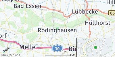 Google Map of Rödinghausen