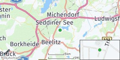 Google Map of Seddiner See