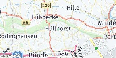 Google Map of Hüllhorst