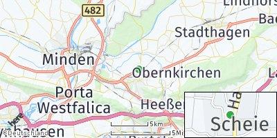 Google Map of Scheie