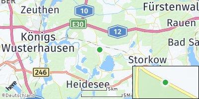 Google Map of Heidesee