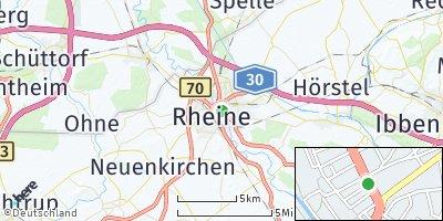 Google Map of Rheine