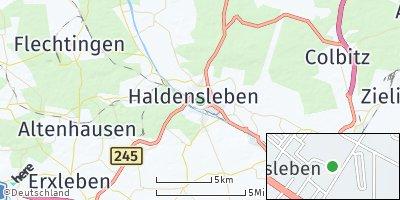 Google Map of Haldensleben