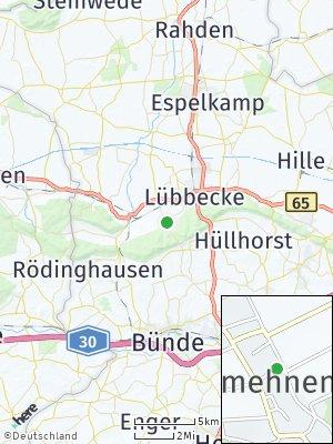 Here Map of Obermehnen
