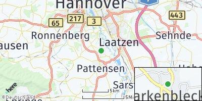 Google Map of Harkenbleck