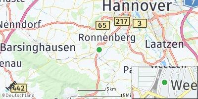 Google Map of Weetzen