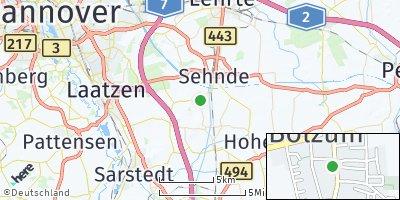 Google Map of Bolzum