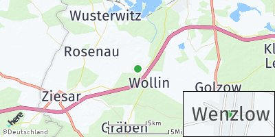 Google Map of Wenzlow