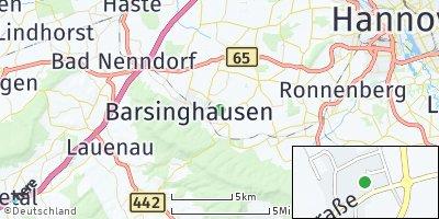 Google Map of Kirchdorf am Deister