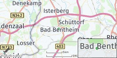 Google Map of Bad Bentheim