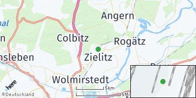Google Map of Zielitz