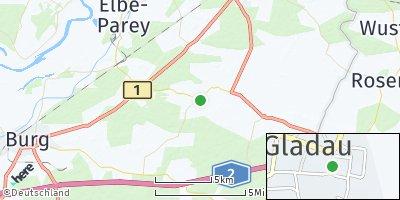 Google Map of Gladau
