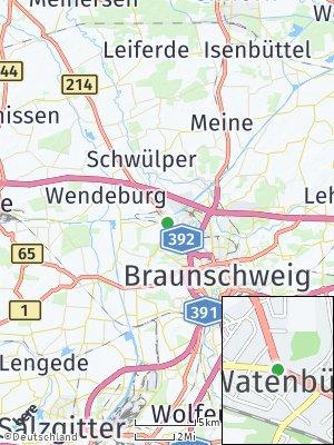 Here Map of Watenbüttel