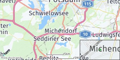 Google Map of Michendorf