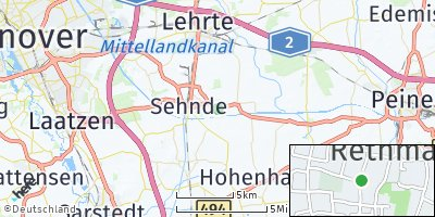 Google Map of Rethmar