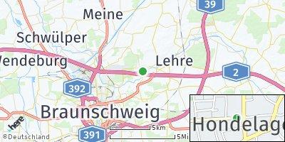 Google Map of Hondelage