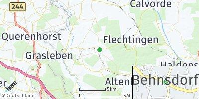 Google Map of Behnsdorf