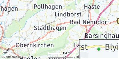 Google Map of Habichhorst-Blyinghausen