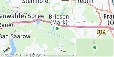 Google Map of Briesen