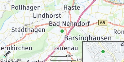 Google Map of Rodenberg