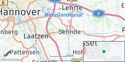 Google Map of Wassel