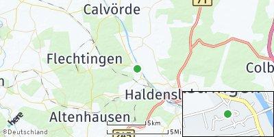Google Map of Bülstringen