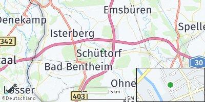 Google Map of Schüttorf
