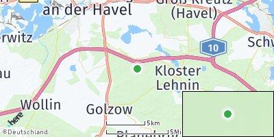 Google Map of Kloster Lehnin